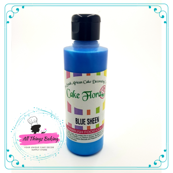 Airbrush Sheen Colour 133ml - Blue