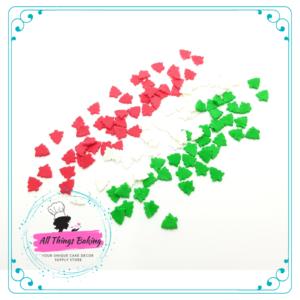 Edible Confetti - Christmas Trees