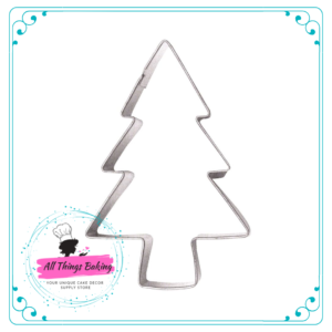 Stainless Steel Cookie Cutter - Christmas Tree