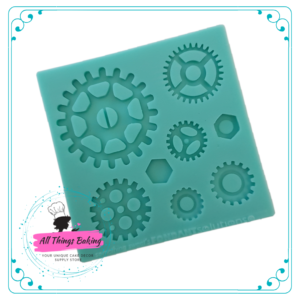 Silicone Mould - Cogs