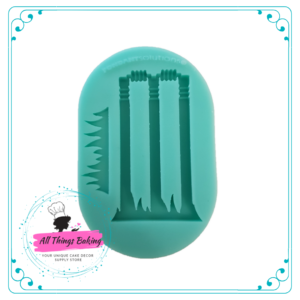 Silicone Mould - Cricket Wickets