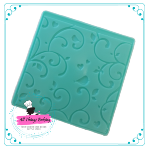 Embossing Mat - Birds and Twirls