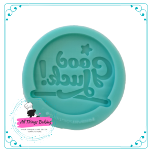 Silicone Mould - Good Luck Disc