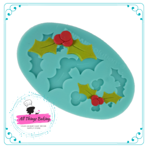 Silicone Mould - Holly Multimould