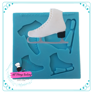 Silicone Mould - Ice Skates