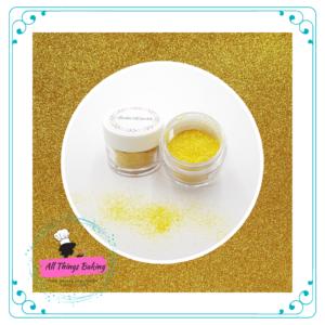 Edible Glitter - Gold Glitter Sparkles