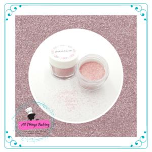 Edible Glitter - Pastel Pink Glitter Sparkles