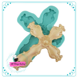 Silicone Mould - Rustic Cross