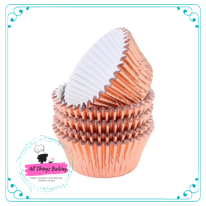 Rose Gold - Baking Cupcake Cup