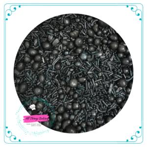 Mixed Sprinkles 100ml - Black
