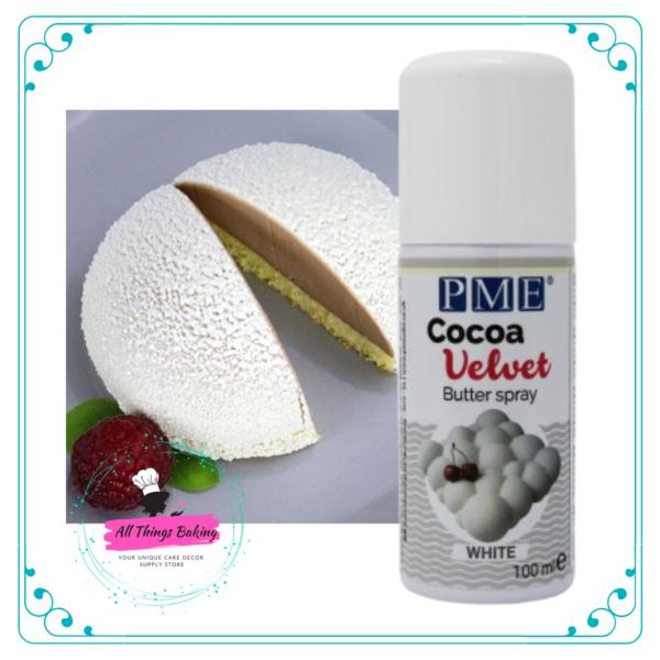 Cocao Velvet Spray - White 100ml