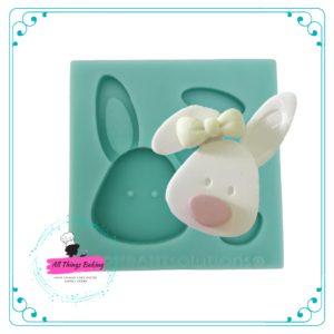Silicone Mould - Bunny Face
