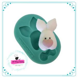Silicone Mould - 2D Bunny Head