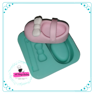 Silicone Mould - Baby Shoe