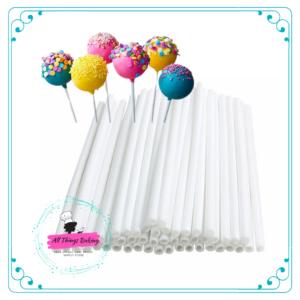 Cake Pop Sticks (Pack of 100)