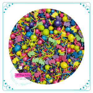 Fancy Sprinkles - Easter Bunny (Colourful)