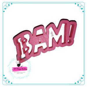 Plastic Cookie Cutter - BAM