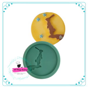 Silicone Mould - Bunny Dreams Moon Disc