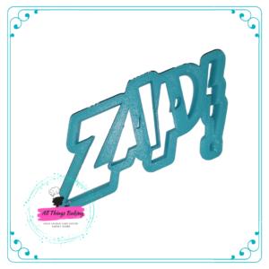 Plastic Cookie Cutter - ZAP