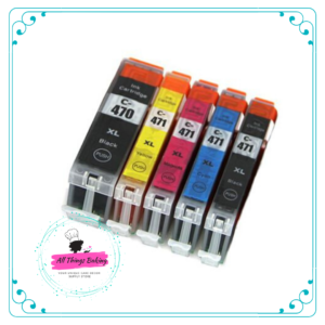 CLI471 Edible Ink Cartridge Set