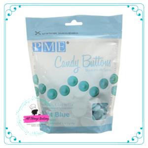 Candy Buttons - Light Blue (340g)