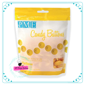 Candy Buttons - Yellow (340g)