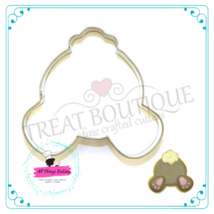 Stainless Steel Cookie Cutter - Bunny Bum