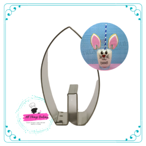 Stainless Steel Cookie Cutter - Bunny Ear Cupsitter