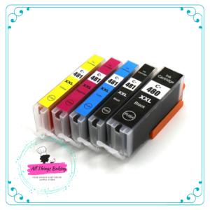 CLI481 edible ink cartridge set