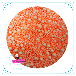 Mixed Sprinkles 100ml - Coral