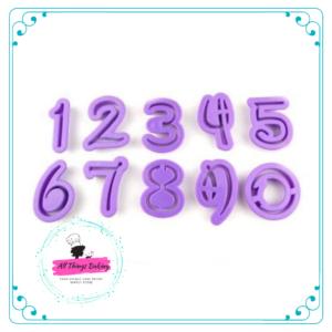 Disney Font Numerals - 10pc (4cm)