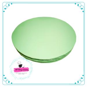 Cake Board Round Mint