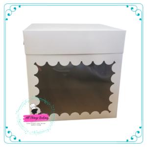 Cake Box with Window