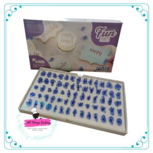 Fun Fonts & Numerals - Cupcakes