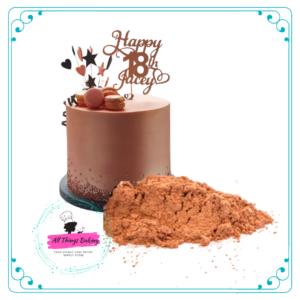 Metallic Powder - Rose Gold