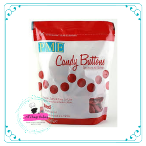 Candy Buttons - Red