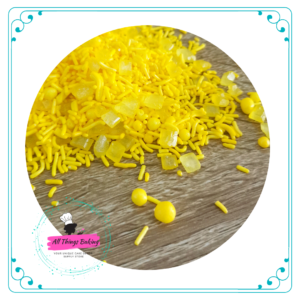 Mixed Sprinkles - Yellow 100ml
