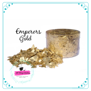 Edible Flakes - Emperors Gold