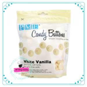 Candy Buttons - White Vanilla (340g)