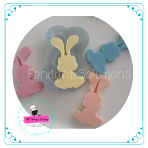 Silicone Mould - Chubby Bunny