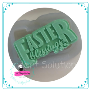Silicone Mould - Easter Blessings