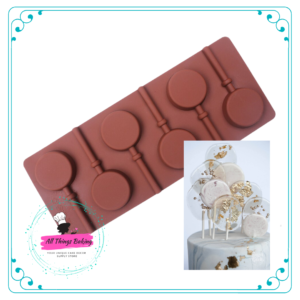 Silicone Mould - 6 Cavity Lolly Mold