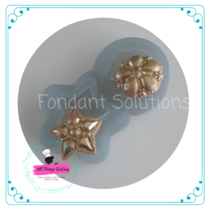 Silicone Mould - Bling Star
