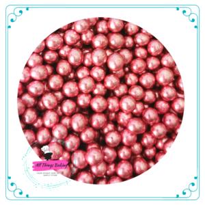 Metallic Pink Bling Dragees