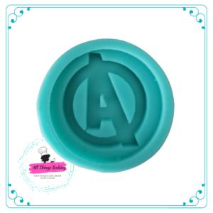 Silicone Mould - Superhero Disc (4cm) 7