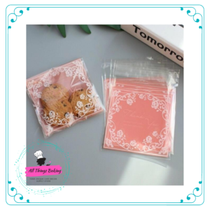 Cookie Bags - Lace print