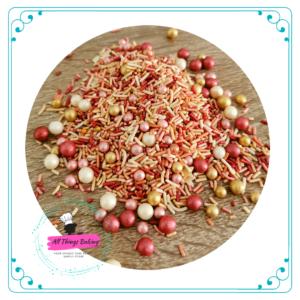 Themed Sprinkles - Glamour Rose