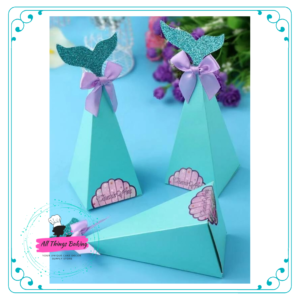 Mermaid Tail Candy Boxes