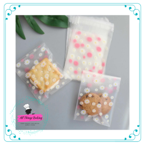 Cookie Bags - Daisy Print
