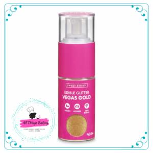 Edible Glitter Pump - Vegas Gold